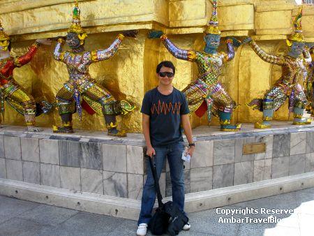 Ambar at the Golden Pagoda