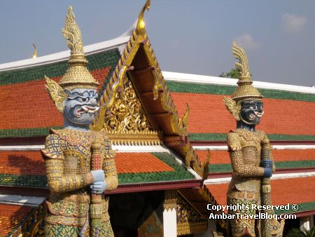 Buddha Deities in Bangkok Palace