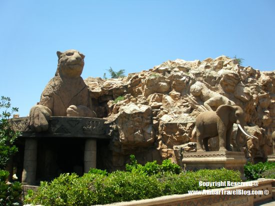 The Bridge of Time, Sun City With Lion