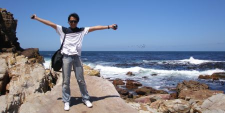 Ambar by the sea of Cape of Good Hope